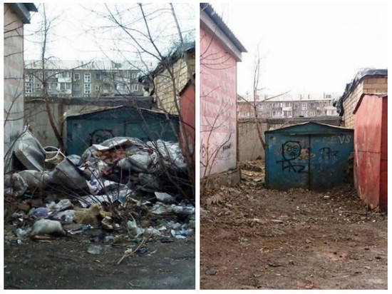 Семь КАМАЗов мусора вывезли с несанкционированных свалок города