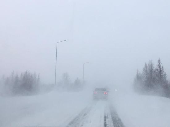 Из-за непогоды на Ямале закрыли все зимники