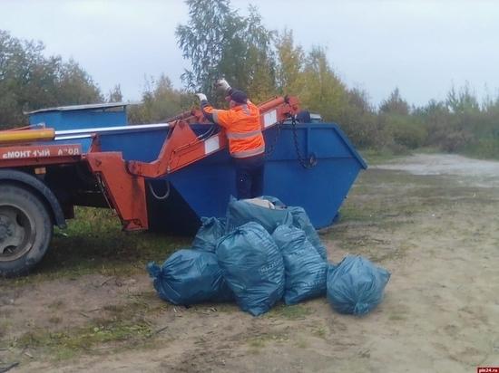 Мусор в Псковской области в нерабочую неделю будут вывозить без срывов