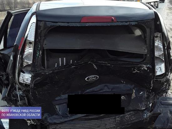 За минувшие сутки в Ивановской области в авариях пострадали два ребенка
