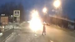 Появилось видео наезда иномарки на школьницу в Ноябрьске