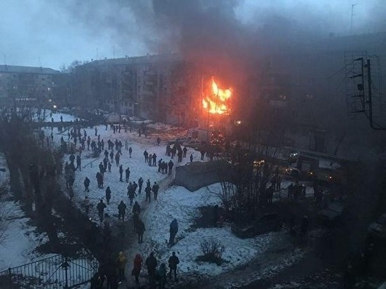 Подробности о взрыве пятиэтажки в Магнитогорске