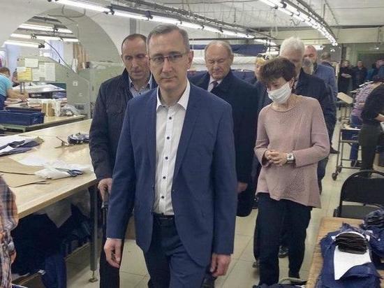 Сухиническая фабрика начала пошив защитной медицинской одежды