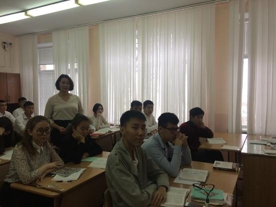 Калмыцкие школьники готовятся к онлайн-олимпиаде