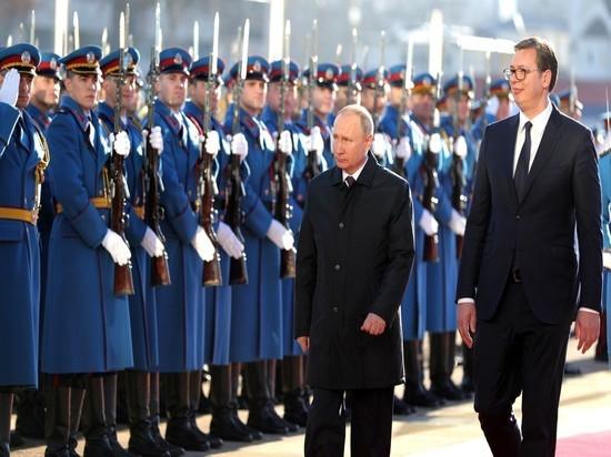 Сербия просит Россию оказать помощь в борьбе с коронавирусом