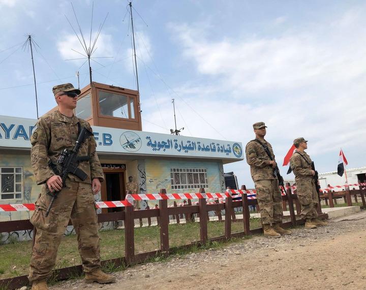 Американские военнослужащие покинули очередную часть в Ираке
