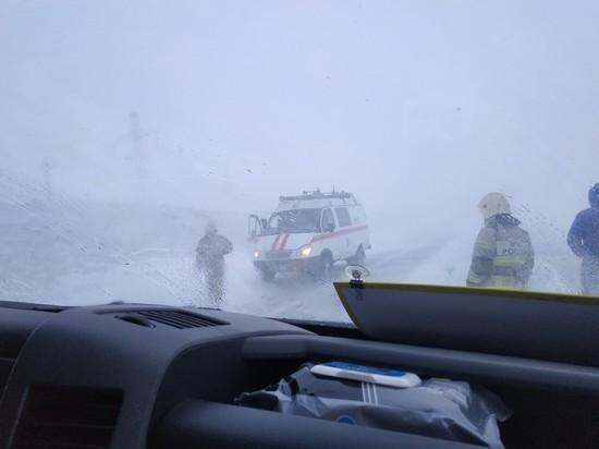 Крупная авария произошла на трассе Р-21 «Кола» под Мончегорском