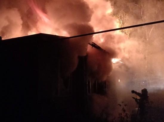 В Меленковском районе вновь горели дома