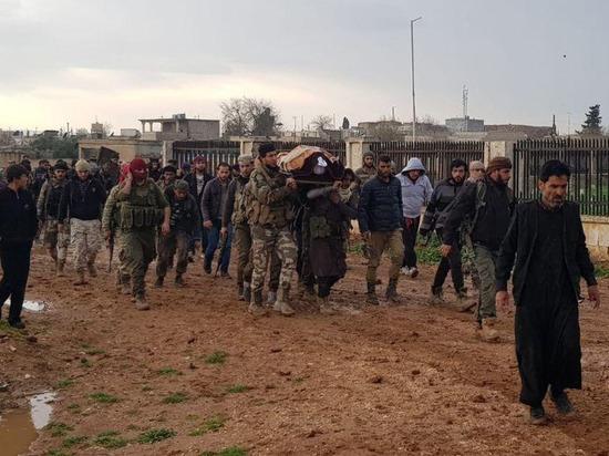 В Сирии убит высокопоставленный протурецкий боевик