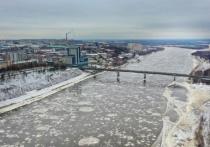 Река Вятка в Кирове прибыла на 11 сантиметров