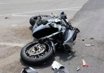В Брянской области разбился мотоциклист