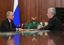 Кремль: Собянин согласовал ужесточение режима самоизоляции с Путиным