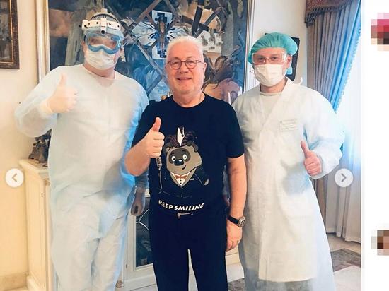 Винокур опубликовал результат своего теста на коронавирус