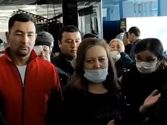 Трудовые мигранты оккупировали столичные аэропорты: домой не пускают