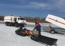 В Комсомольском районе подняли тело мужчины из провалившегося под лед автомобиля