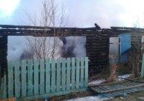 В Бурятии при пожаре в жилом доме погиб человек
