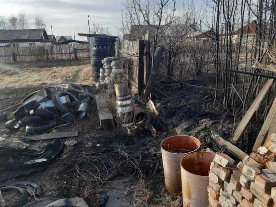 Житель Хакасии жёг мусор, не смотря на противопожарный режим