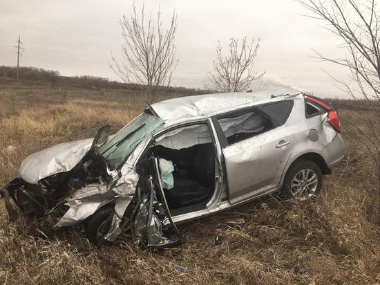 Ночью в Михайловском районе иномарка улетела в кювет, водитель погиб