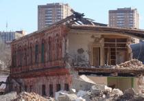 Курские строители нанесли урон особняку XIX века