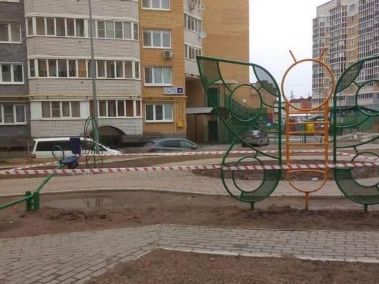 В чебоксарских дворах закрыли детские и спортивные площадки
