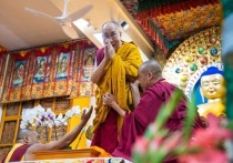 Далай-лама обратился, в том числе, к калмыцким буддистам