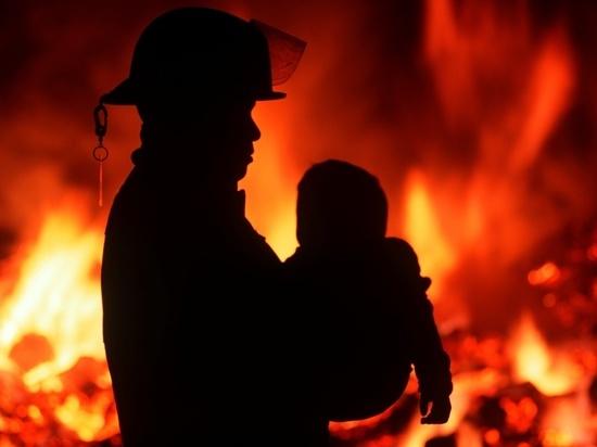 В Хакасии в пожаре погиб 7-летний мальчик