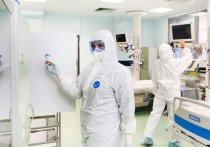 Московские врачи показали свои лица после ночи с больными COVID-19