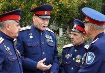 Казаки патрулируют улицы Салехарда по согласованию с властями