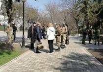 Улицы Ессентуков в дни самоизоляции патрулируют народные дружинники