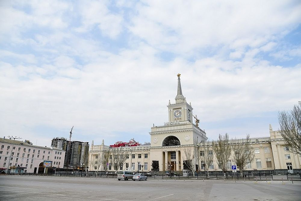 Безлюдный Волгоград: город-герой во время самоизоляции