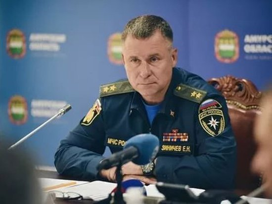 В Хакасию прибыл министр МЧС России