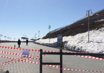 Барнаульские парки и набережную закрыли из-за коронавируса