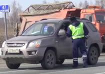 В Челябинской области сотрудники ГИБДД рассказывают водителям о режиме самоизоляции