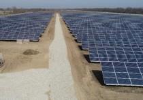 В Адыгее построили мощную солнечную электростанцию