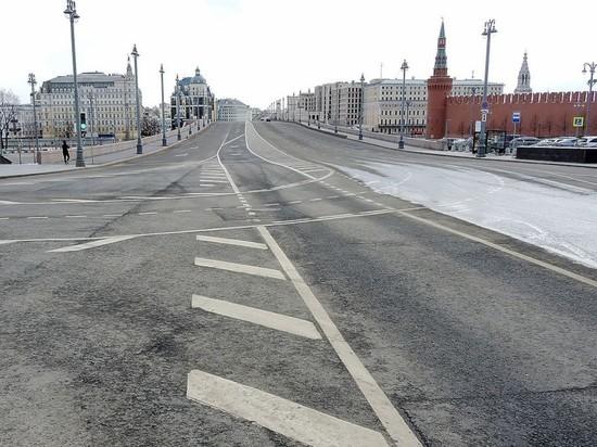 Дороги Москвы стали свободнее на 86%