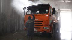 Региональный оператор «МСК-НТ» дезинфицирует машины