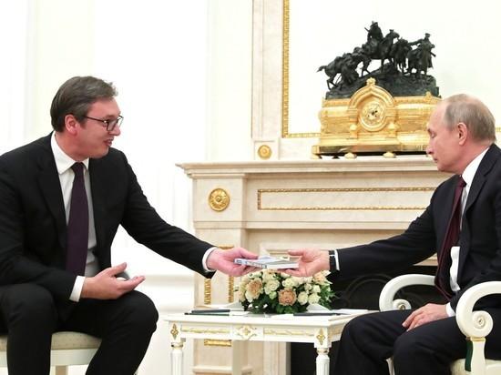 Путин отправит в Сербию помощь для борьбы с коронавирусом