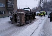 Житель Хакасии попал в ДТП на угнанном мусоровозе