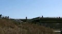 В Приморье под автомобилем рухнул мост