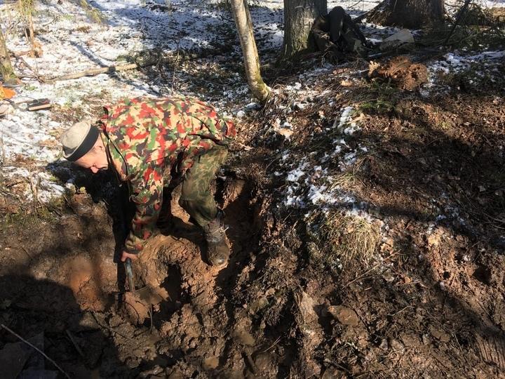 В Тверской области нашли остатки фашистских машин