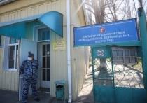 В волгоградской инфекционной больнице № 1 ставят санпропускники