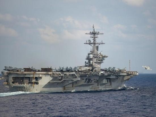 """Русские моряки оценили заражение авианосца """"Теодор Рузвельт"""" коронавирусом"""
