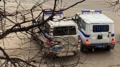 Полицейские обратились к жителям Твери через громкоговоритель
