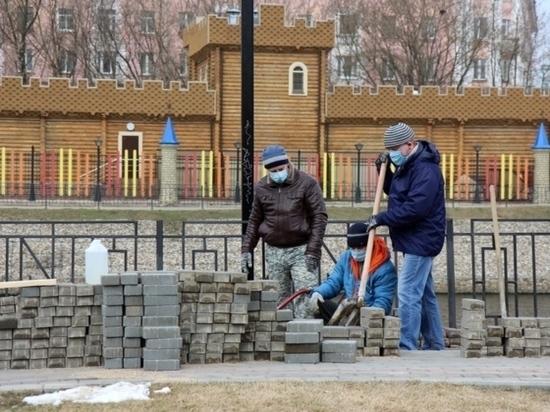 В Иванове отремонтировали «поплывшую» тротуарную плитку на набережной Уводи