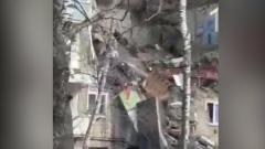 Взрыв в Орехово-Зуево: видео с места