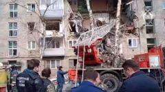 На месте взрыва дома в Орехово-Зуево начались следственные действия: видео