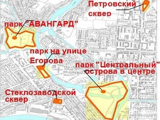 Жители города в Тверской области хотят благоустроить парк