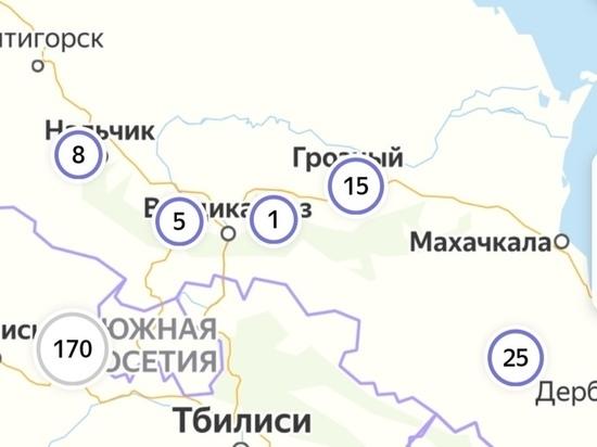 На Северном Кавказе замедлился рост числа зараженных COVID-19