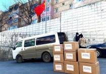 Медицинские маски из Китая морем идут в Магадан