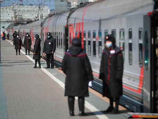 В Абакане отменили первый поезд из-за коронавируса